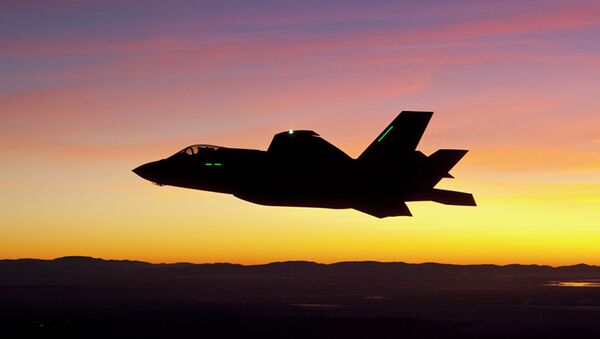 Lockheed Martin, another leader in the industry with its F-35, F-22, F-16, F-117, and C-130s saw shares grow more than 3.53%. - Sputnik International