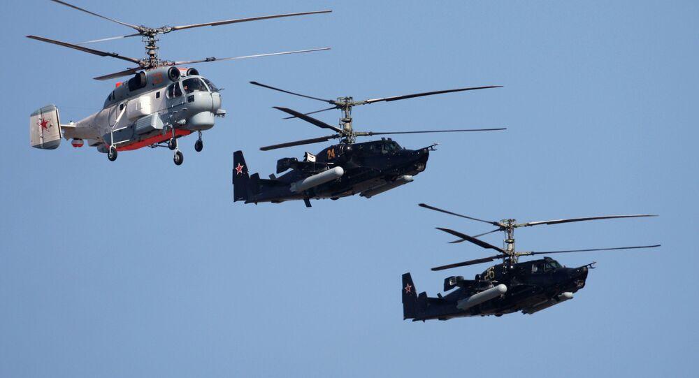 Kamov design bureau helicopters