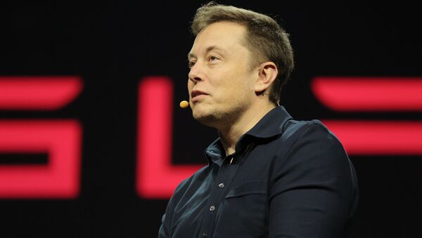 Tesla CEO Elon Musk is really really worried that his friend, Google cofounder Larry Page, has adopted some destructive interests - destructive for humanity, that is. - Sputnik International