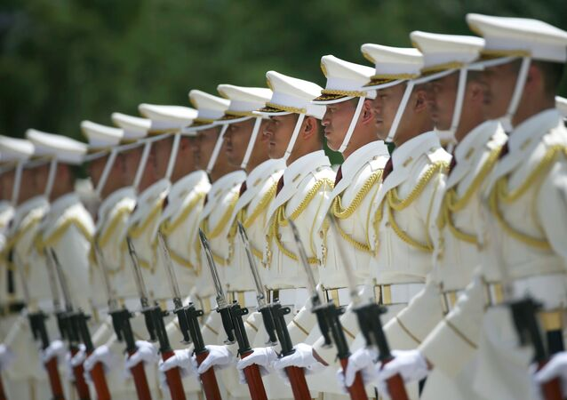 Members of a Japan Self-Defense Forces