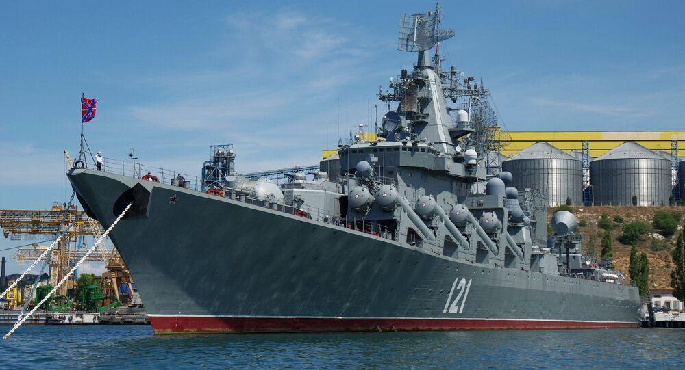 Ships of Black Sea Fleet in Sevastopol