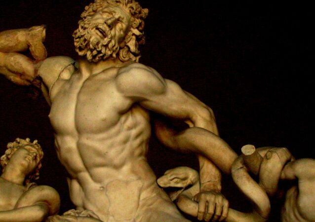 A Greek tragedy - the Laocone