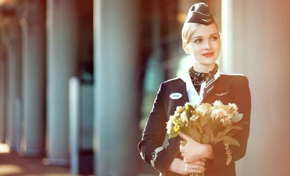 Aeroflot's Stewardesses: The Female Face of Russia's Airline - Sputnik International