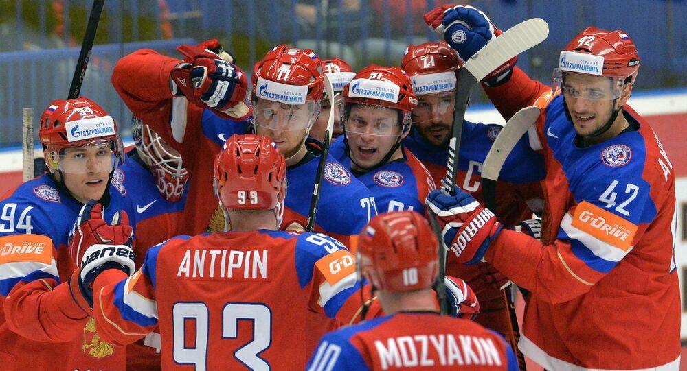 Ice Hockey World Championship 2015. Sweden vs. Russia