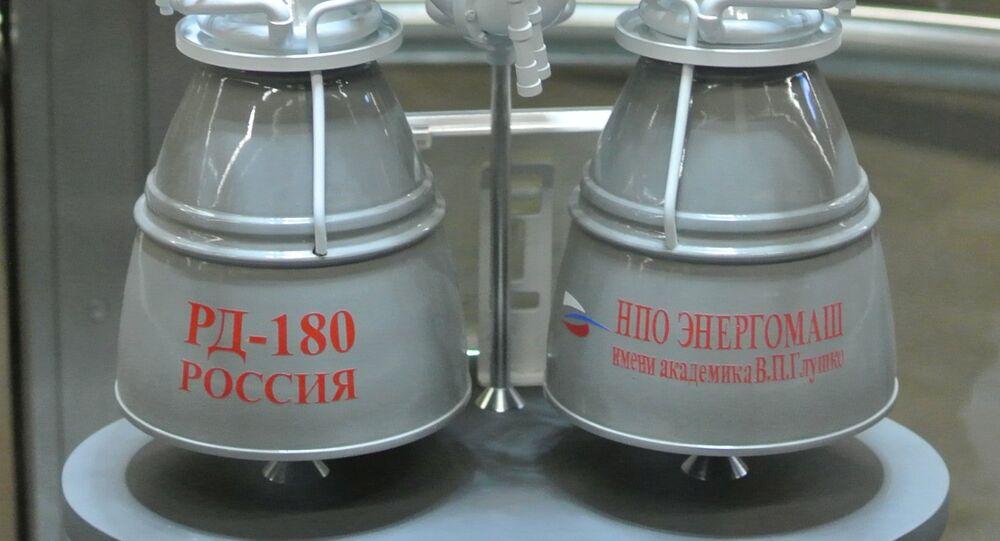 Russian RD-180 rocket engine
