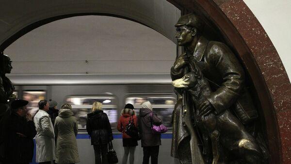 Ploshchad Revolutsii (Revolution Square) Moscow metro station - Sputnik International