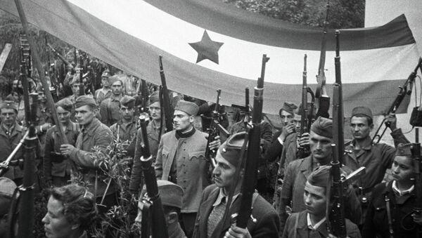 Yugoslav guerrillas - Sputnik International