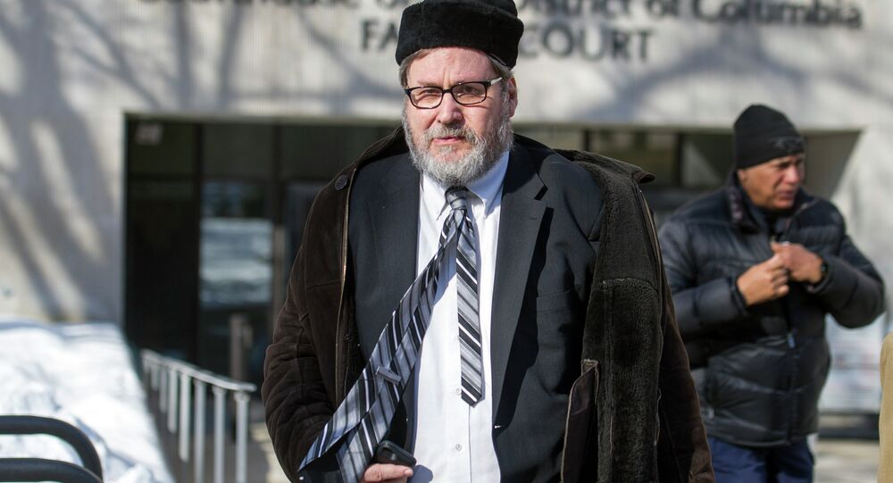 A once-prominent, now disgraced Washington DC rabbi was sentenced Friday to six and a half years for taping women in a changing room as they prepared for ritual bathing.