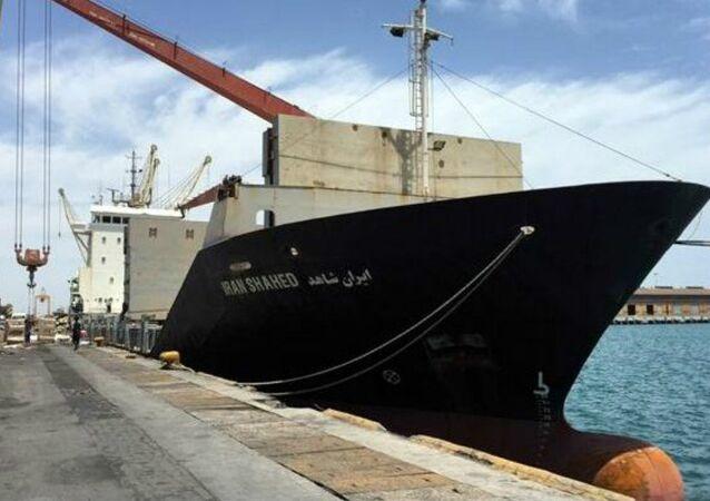 Iran Shahed ship