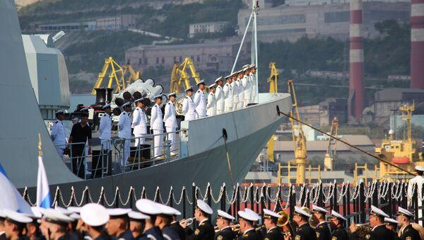 Russian-Chinese drills Joint Sea-2015 kick off in Novorossiysk - Sputnik International