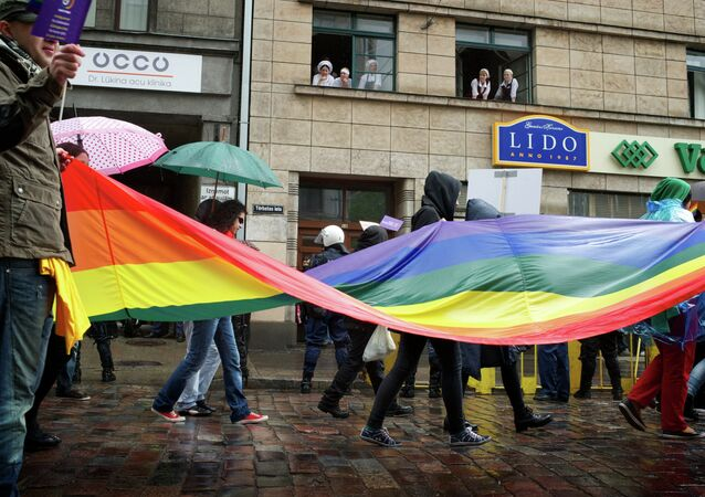 Stepping out against the 'EuroPride' gay pride parade set to be held in the Latvian capital next month, Riga Deputy Mayor Andris Ameriks stated that the parade would amount to ostentatious showing off, adding that the event is opposed by three quarter of the city's residents, Latvian news hub Delfi reports.