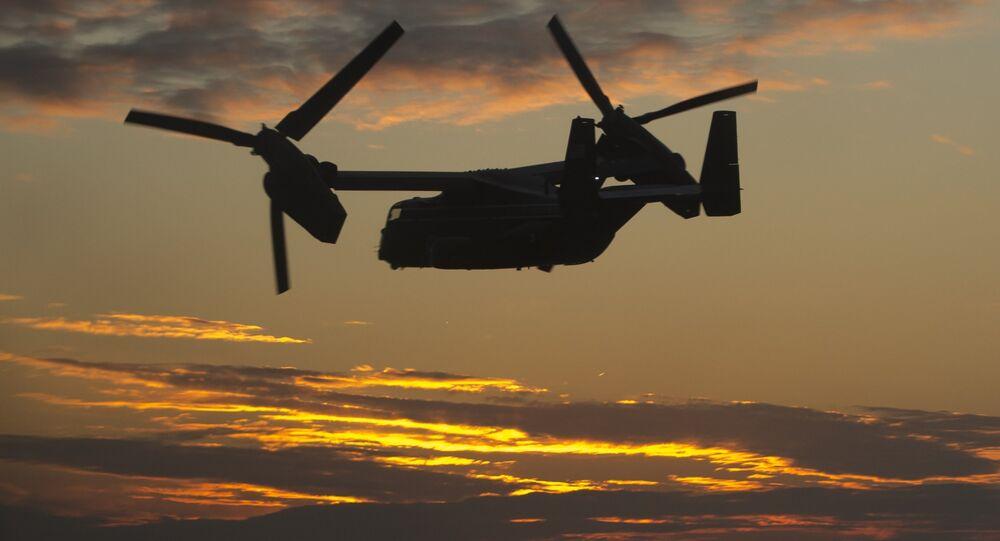 US Marine Corps Bell Boeing MV-22 Osprey