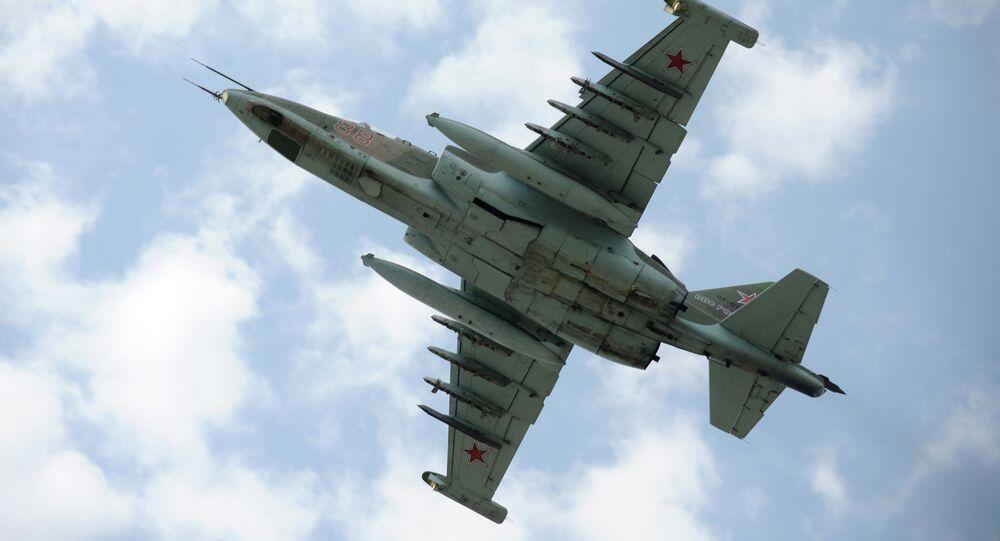 Su-25 attack plane