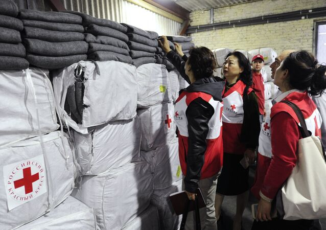 Medical supplies from China arrive in Rostov region to help refugees