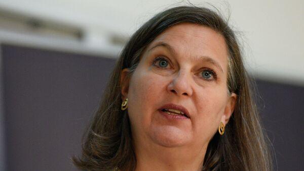 Assistant Secretary of State Victoria Nuland in Kiev - Sputnik International