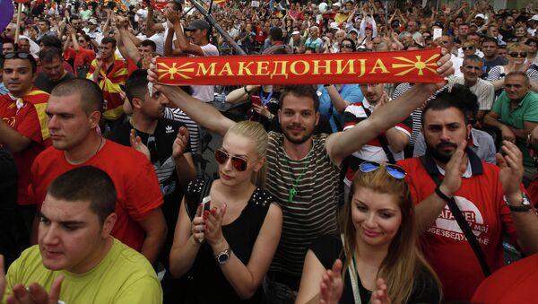 Macedonia - Sputnik International