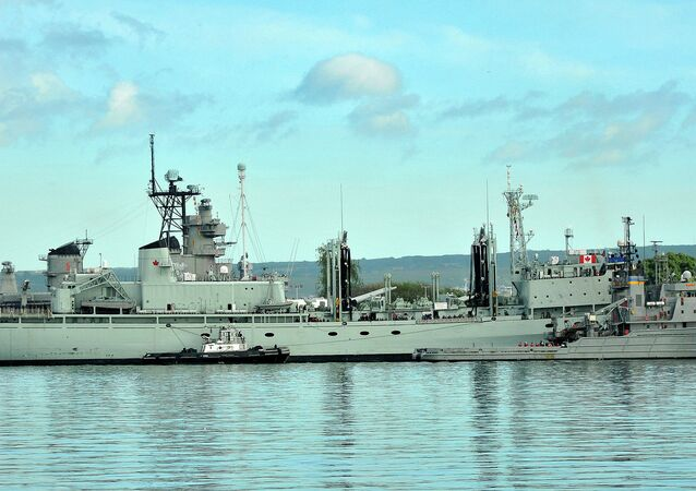 Mechanics for the Canadian Navy apparently had such difficulty finding replacement parts for a supply ships - like the HMCS Protecteur -  that they resorted to searching for them on eBay.