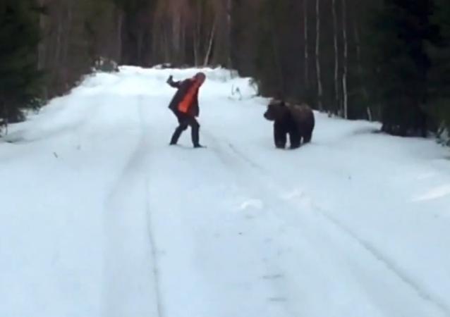 Viking Genes: Swede Scares Off Wild Bear