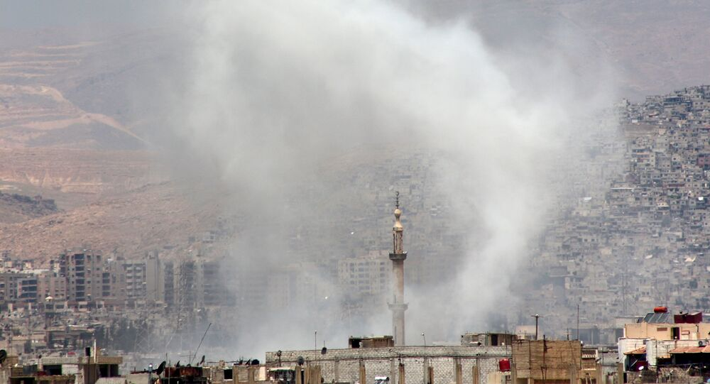 Damascus suburb