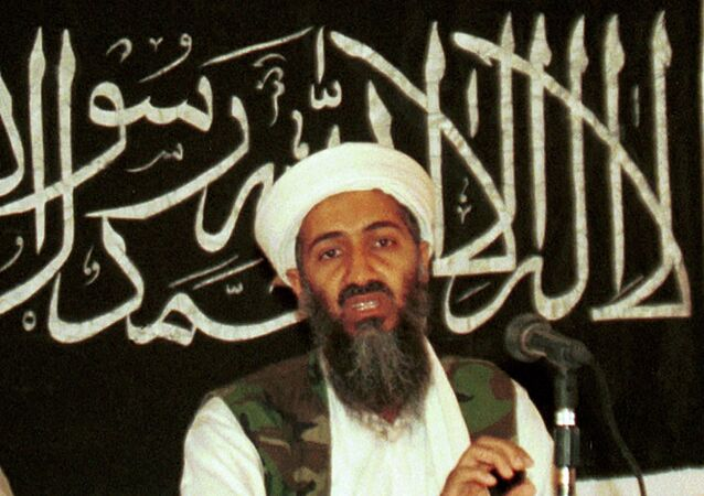 Osama bin Laden in 1998 file photo from his hideout in Afghanistan.