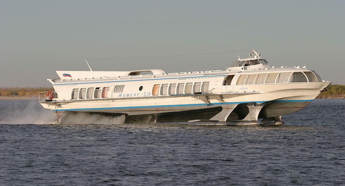 First Hydrofoil Since Soviet Era In Construction At Russian Shipyard Sputnik International