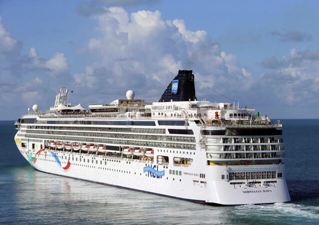 The Norwegian Cruise Line ship Norwegian Dawn