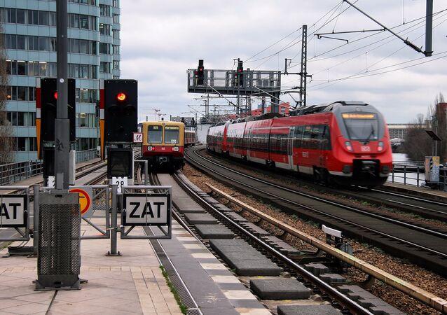 Train line, Germany