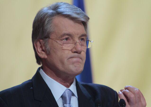 Former Ukrainian President Viktor Yushchenko