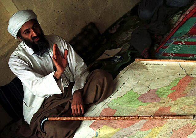 Osama bin Laden, identified by the US as being the prime suspect in the attacks on the US, is shown in Afghanistan in this April 1998 file photo