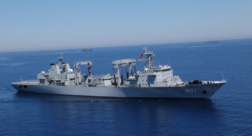 Russian-Chinese drills Joint Sea-2015 in the Mediterranean