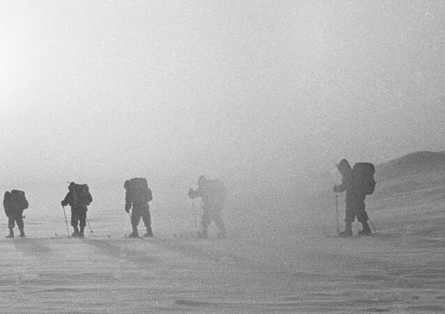 An Arctic research and athletic expedition