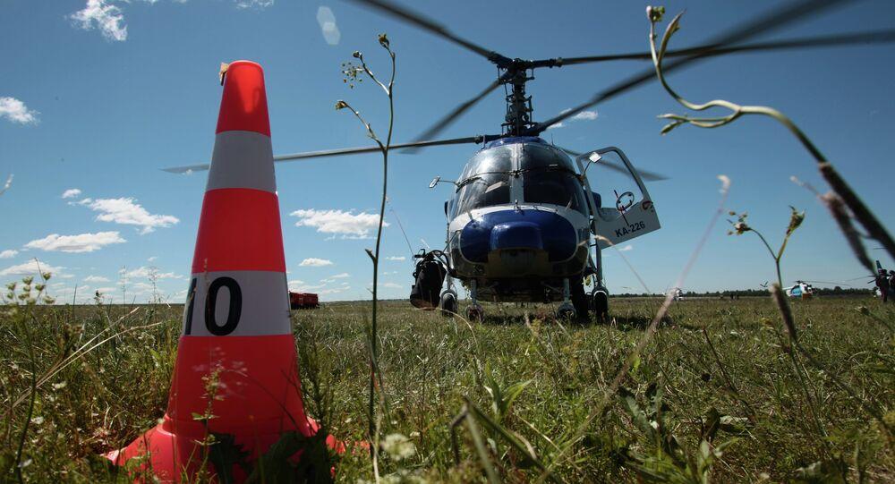 A Ka-226 helicopter