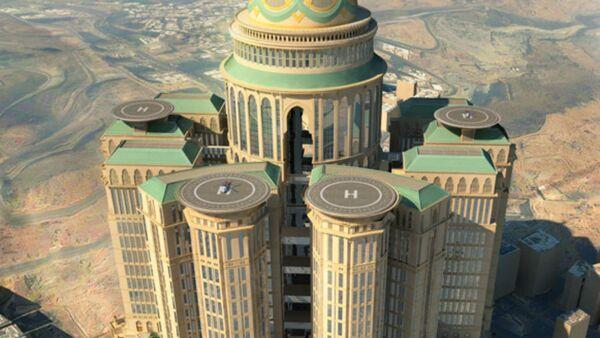 Plans of what Saudi Arabia's Abraj Kudai will look like. - Sputnik International