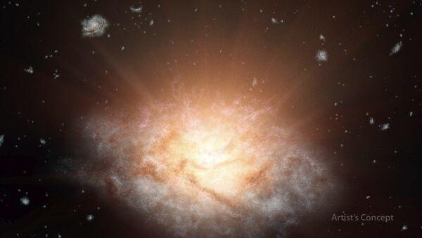 The most luminous galaxy in the universe - Sputnik International