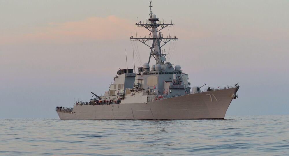 Guided-missile destroyer USS Ross (DDG 71)