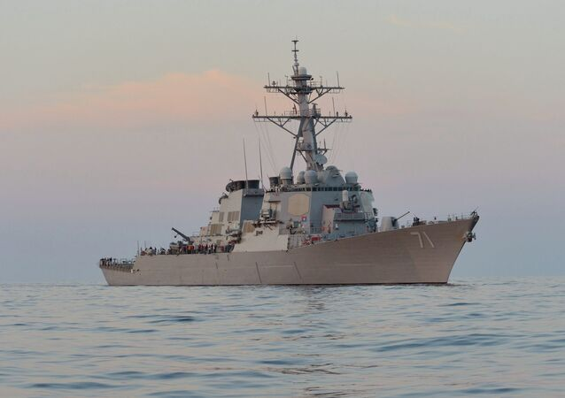 Guided-missile destroyer USS Ross (DDG 71)