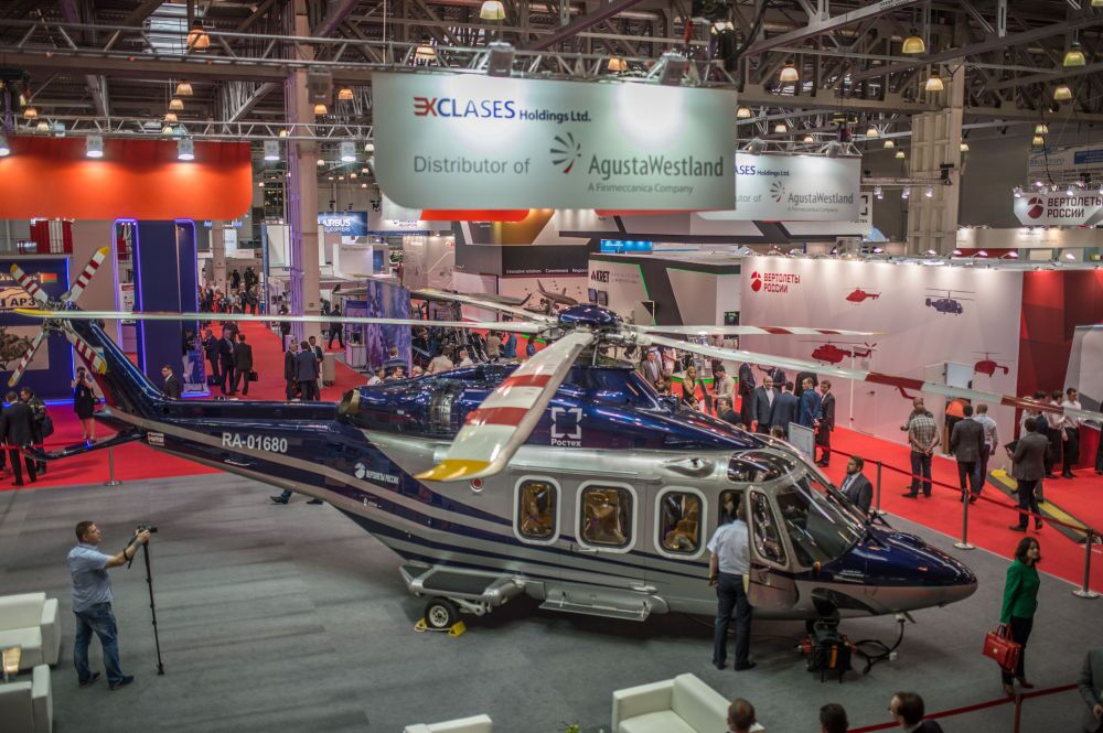 Float Like a Butterfly: HeliRussia 2015 Helicopter Industry Expo in Moscow