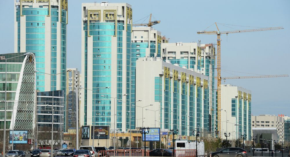 New buildings in Astana.