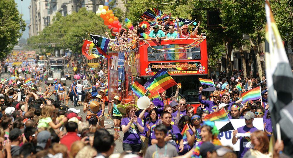 Gay Pride Parade In San Francisco - Seniors Who Declared