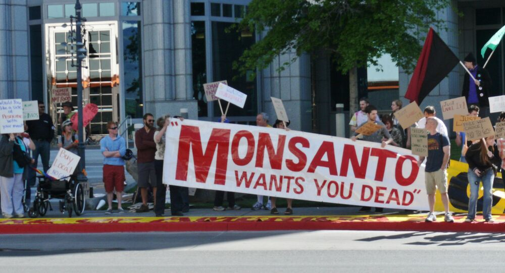 Thousands of people marched against Monsanto on Saturday in over 400 cities around the world.