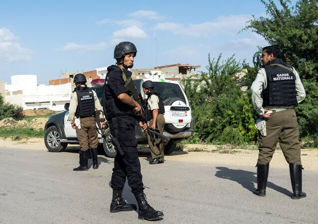 Members of the Tunisian National Guard