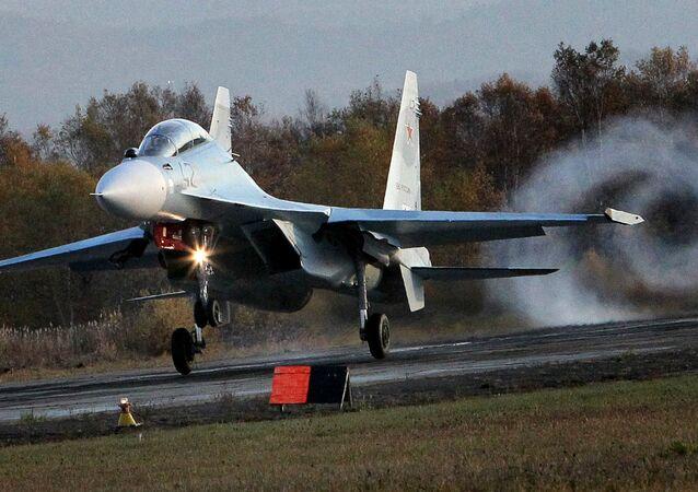 Multi-purpose Su-30 M2 fighter jet