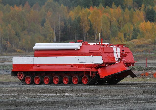 Special firefighting vehicle SPM