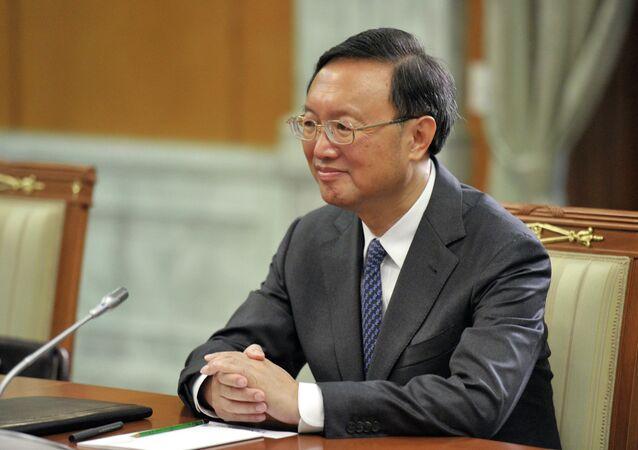 Chinese State Councilor Yang Jiechi