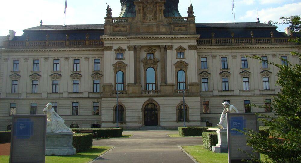 Czech Parliament building