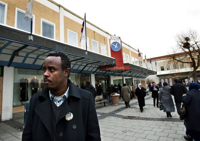 Rinkeby, an largely immigrant suburb on the outskirts of Stockholm (photo used for illustration purpose)