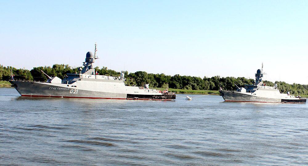 Grad Sviyazhsk, a Project 21631 (Buyan-M) corvette