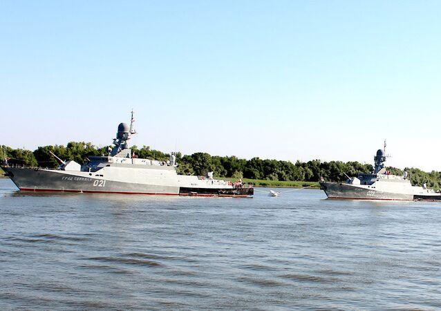 Project 21631 corvettes