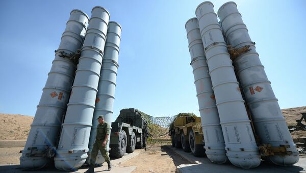 Military exercise involving S-300 surface-to-air missile systems - Sputnik International