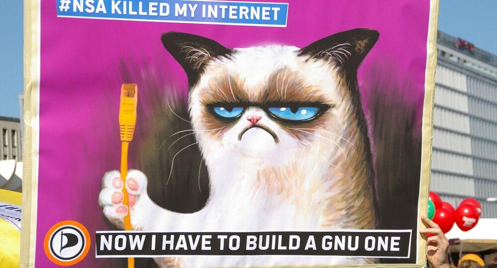 Anti-surveillance poster